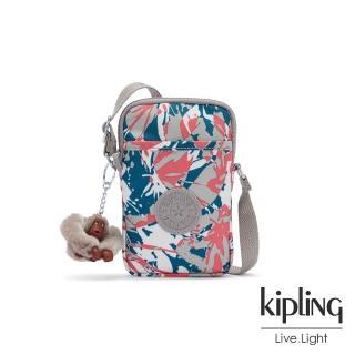 【KIPLING】碰撞魅力潑墨可愛長方形小包-TALLY/