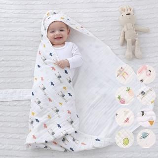 【橘魔法】春秋夏薄款水洗純棉紗布新生兒包被 包巾 新生兒 嬰兒 寶寶包巾(橘魔法 Baby magic 現貨)