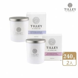 【Tilley 百年特莉】澳洲原裝微醺大豆香氛蠟燭(任選2入)