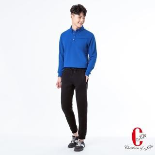 【JYI PIN 極品名店】經典厚棉料素面POLO衫_藍(PW801-55)