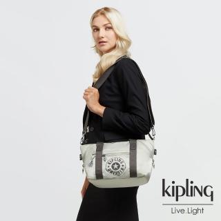 【KIPLING】質感活躍銀手提側背包-ART MINI