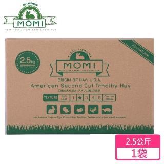 【MOMI 摩米】美國特級第二割提摩西草2.5公斤