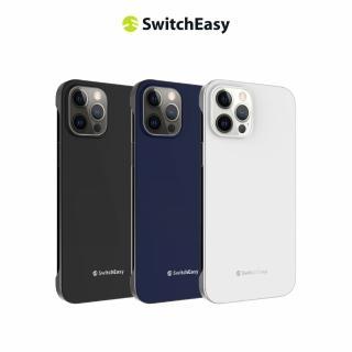 【SwitchEasy】NUDE 裸機手感 6.1吋 iPhone 12/12 Pro 電鍍邊框手機殼(防指紋)