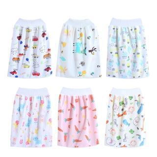 【Baby 童衣】寶寶高腰防水隔尿裙 兒童嬰兒布尿褲 尿墊 88576(共5款)