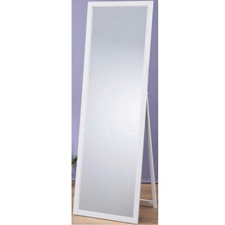 【鏡王之王】高160實木立鏡 全身鏡 穿衣鏡 壁鏡 掛鏡 加掛環可當掛鏡(MR1652-白色)