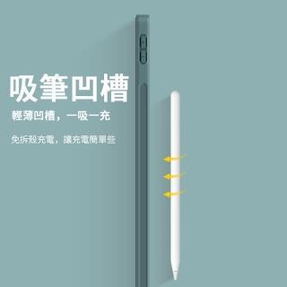 【ANTIAN】iPad 8 10.2吋 2020版 智慧休眠喚醒平板皮套 內置筆槽 散熱支架保護套(全包保護殼)