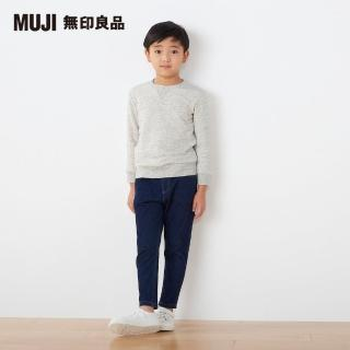 【MUJI 無印良品】兒童棉混柔軟裏毛圓領衫(共6色)