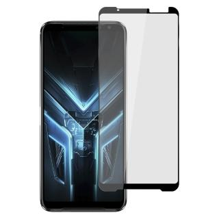 【Ayss】ASUS ROG Phone 3/6.59吋/2020(平面絲印滿版全膠/鋼化玻璃膜-黑)