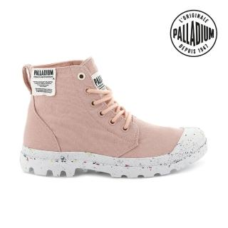 【Palladium】PAMPA HI ORGANIC有機軍靴-女-蜜桃粉(96199-647)