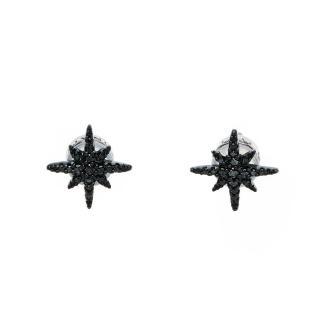 【apm MONACO】閃耀黑鋯石流星耳釘