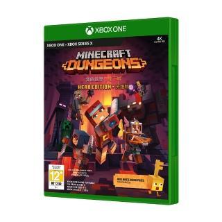 【Microsoft 微軟】Xbox Minecraft Dungeons我的世界_地下城 中文英雄版(實體版)