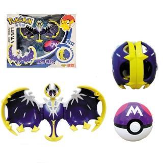 【Pokemon】寶可夢 神奇寶貝 變形球 可變形 露奈雅拉(代理版)