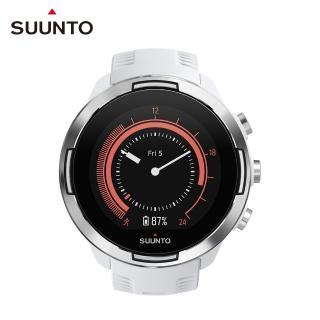 【SUUNTO】Suunto 9 Baro White 堅固強勁 超長電池續航力 及 氣壓式高度的多項目運動GPS腕錶(時尚白)