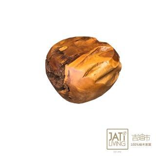 【吉迪市柚木家具】柚木饅頭椅 PP520B(桌子 椅子 花台 置物 復古 展示台)