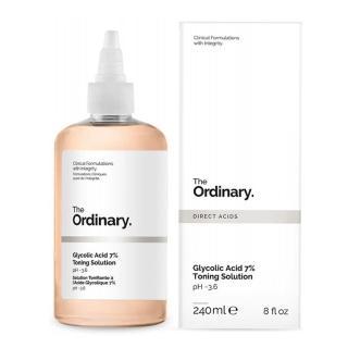 【The Ordinary】甘醇酸去角質化妝水 Glycolic Acid 7% Toning Solution(240ml)