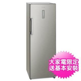 【贈時尚不鏽鋼調味罐組※Panasonic國際牌】242公升直立式冷凍櫃(NRFZ250A/NR-FZ250A)
