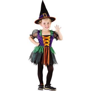 【Party Animal 派對動物】可愛小巫婆裝扮洋裝3-4歲幼兒童萬聖節服飾變裝(082749)