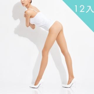 【佩登斯】15D腿部透明修身顯瘦絲襪/褲襪(12入)