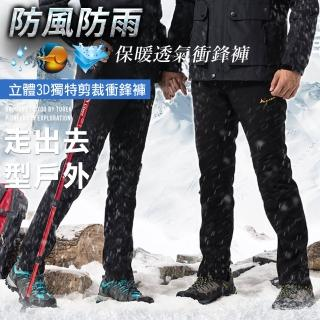 【Heart:W 新職人】男女款全方位輕量防風雨耐磨軟殼衝鋒機車褲(兩款可選 版型偏小)