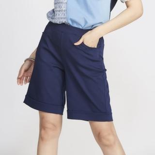 【YAKPAK】涼感顯瘦中大尺碼五分褲(3色)