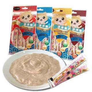 寵物夢工廠呼嚕貓頂級海鮮貓肉泥 16g*5(30大包獨家組)