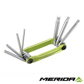 【MERIDA 美利達】7合1簡易隨身工具組 4294(補修/維修/板手/單車/自行車)