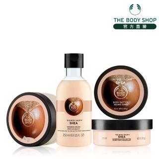 【THE BODY SHOP 美體小舖】乳油木果修護沐浴保養組