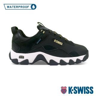 【K-SWISS】戶外運動防水鞋 Cali Trail WP-女-黑(96967-084)