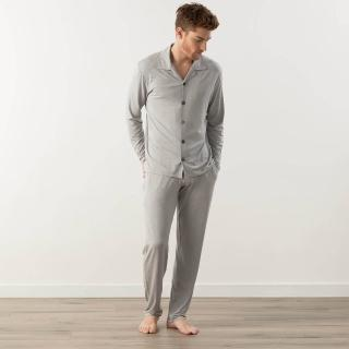 【Tani】奧地利天絲-Silktouch 最高級天絲男長袖睡衣套裝(39327-49125)