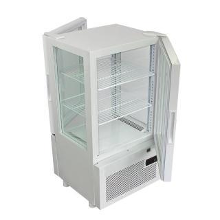 【WARRIOR 樺利】日本JCM 直立四面玻璃 冷藏展示櫃 SC-63F(前後開門)