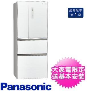 【Panasonic 國際牌】500公升四門變頻玻璃翡翠白(NR-D501XGS-W)