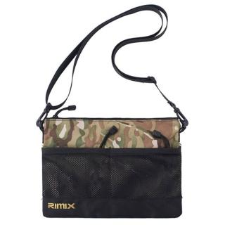 【RIMIX】RIMIX 戶外多功能斜背包 耐磨防潑水隨身小包 兩色可選