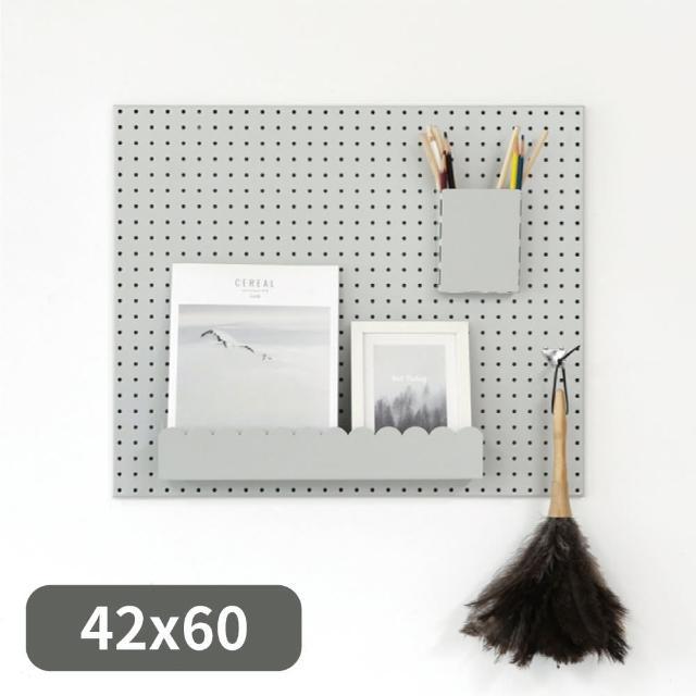 【韓國inpegboard】鐵製洞洞板/收納壁板42x60x1.5cm(四色可選)/