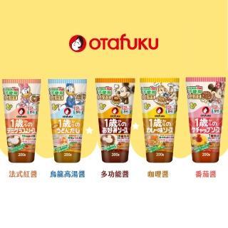 【日本OTAFUKU】多福兒童專用醬汁(5種口味)