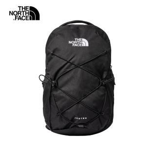 【The North Face】The North Face北面男女款黑色戶外休閒後背包|3VXFJK3