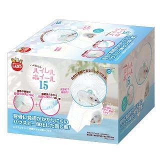【Marukan】小動物健康舒適滾輪M藍(ML-233)