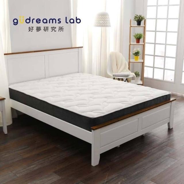 【TRONlife好床生活】民宿超耐用獨立筒床G01_雙人加大6尺(AG+銀纖抗菌表布)/
