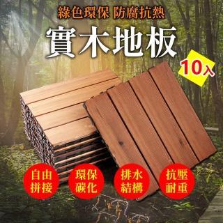 【溫潤家居】戶外實木地板