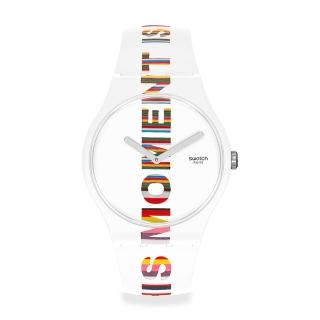 【SWATCH】New Gent 原創系列手錶 TIME S MAGIC(41mm)
