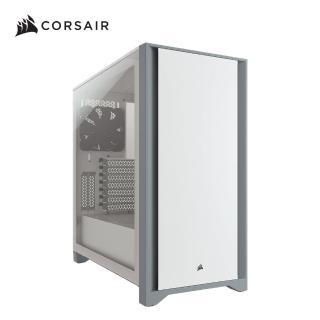 【CORSAIR 海盜船】4000D 電競機殼-白玻璃(鋼化玻璃)