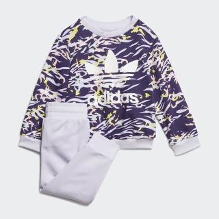 【adidas官方旗艦館】運動套裝 男童/女童(GD2860)