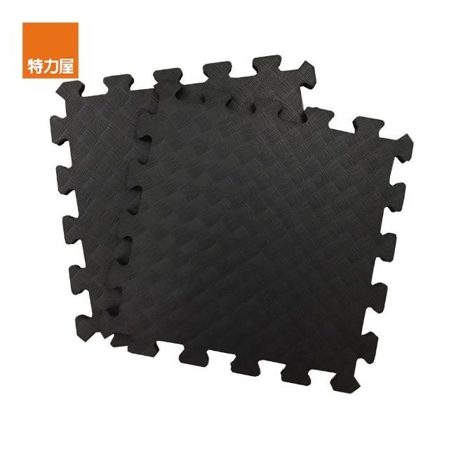【特力屋】EVA安全地墊4坪16包-144片-黑色/