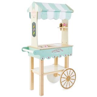 【LE TOY VAN】角色扮演系列-夢幻冰淇淋餐車大型木質玩具組(TV327)