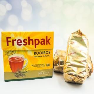 【Freshpak】南非國寶茶 RooibosTea 茶包-新包裝(2.5克x80入/盒)