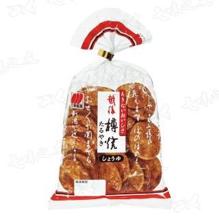 【三幸製果】越後樽燒米果-醬油風味 96g