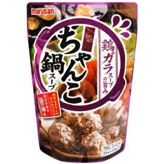 【日本原裝進口】丸三相撲鍋高湯750ml(富含蛋白質、膠質)鍋底、湯底、高湯、湯包