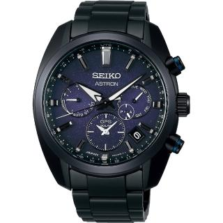 【SEIKO 精工】Astron 暗夜星空GPS衛星校時雙時區手錶(5X53-0BC0B)
