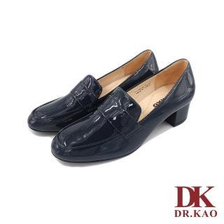 【DK 高博士】亮面牛皮氣墊女鞋 71-9019-70 藍色