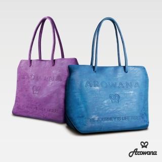 【Arowana 亞諾納】加價購A4大容量手提包/肩背包(多色任選)