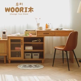 【完美主義】日系質感伸縮多功能化妝桌櫃組/收納櫃